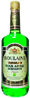 Boulaine Schnapps Sour Apple 1.00l - Case of 12